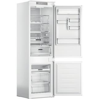Whirlpool Kombinētais ledusskapis/saldētava Iebūvējams WHC18 T574 P Balta 2 doors Perspective open
