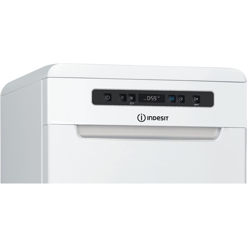 Indesit Lave-vaisselle Pose-libre DSFC 3T117 Pose-libre F Control panel