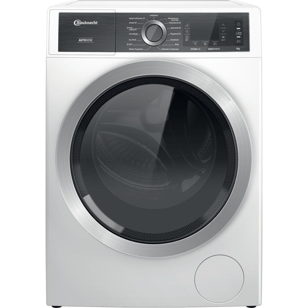 Bauknecht Waschmaschine Standgerät B8 W846WB DE Weiss Frontlader A Frontal