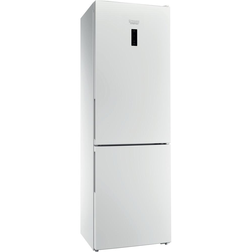 Hotpoint_Ariston Комбинированные холодильники Отдельностоящий HFP 5180 W Белый 2 doors Perspective