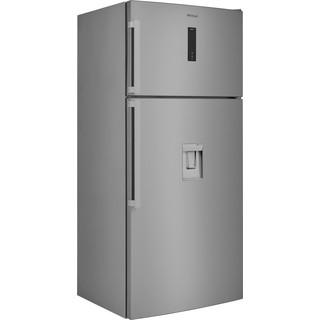 Whirlpool Συνδυασμός ψυγείου/καταψύκτη Ελεύθερο W84TE 72 X AQUA 2 Inox 2 doors Perspective