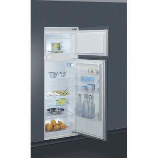 Indesit Combinazione Frigorifero/Congelatore Da incasso T 16 A1 D/I Acciaio 2 porte Perspective open
