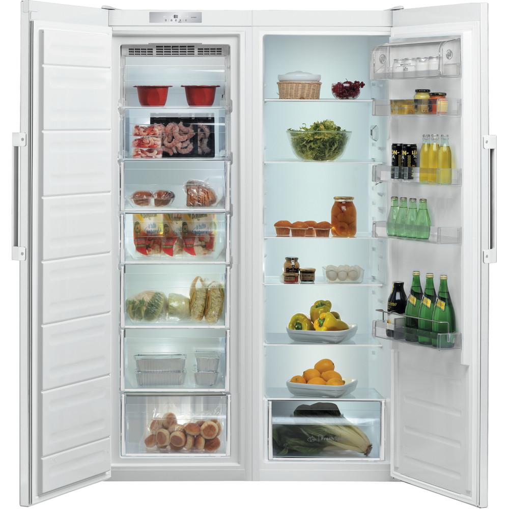 Indesit Freezer Free-standing UI8 F1C W UK 1 Global white Frontal open