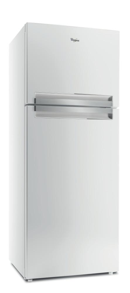 Whirlpool Συνδυασμός ψυγείου/καταψύκτη Ελεύθερο T TNF 8111 W Λευκό 2 doors Perspective