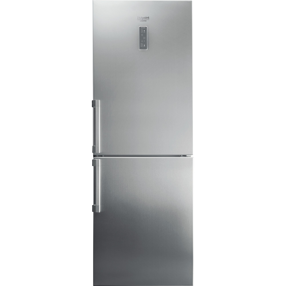 Hotpoint_Ariston Combinazione Frigorifero/Congelatore Libera installazione HA70BE 73 XO3 Optic Inox 2 porte Frontal