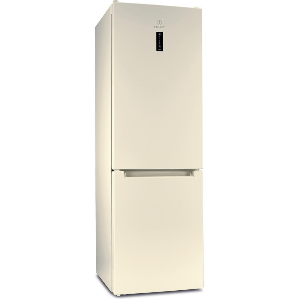 Indesit Холодильник с морозильной камерой Отдельностоящий DF 5180 E Розово-белый 2 doors Perspective
