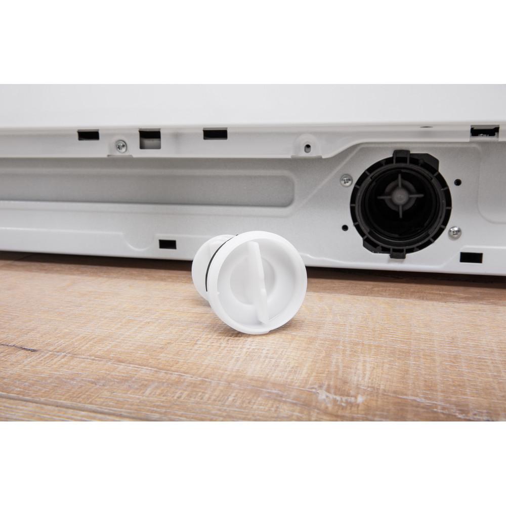 Indesit Lavabiancheria A libera installazione BWE 91284X WSSS IT Bianco Carica frontale A+++ Filter