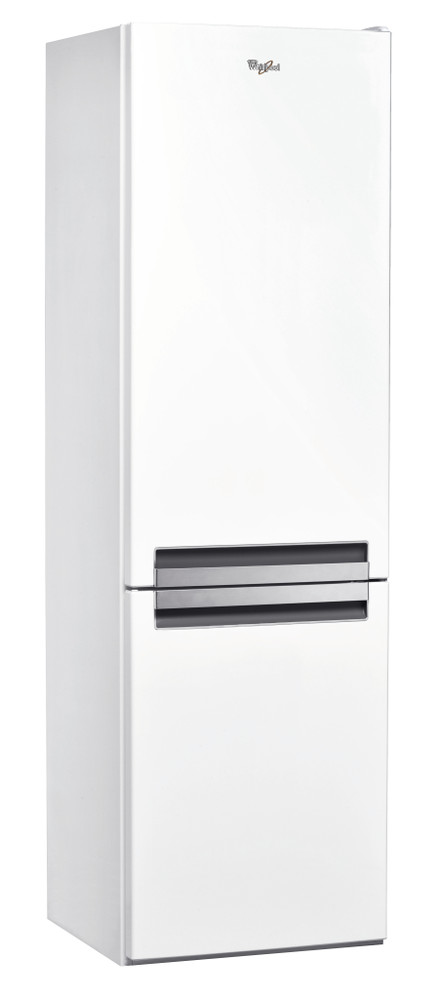 Whirlpool Fridge/freezer combination Samostojeća BSNF 8121 W Bela 2 vrata Perspective