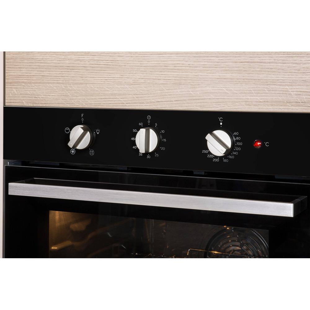 Indesit Духовой шкаф Встраиваемый IGW 620 BL Газовая A Lifestyle_Control_Panel