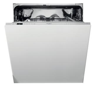 Съдомиялна за вграждане Whirlpool: сребрист цвят, стандартен размер - WI 7020 P
