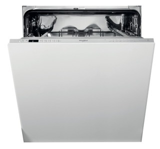 Integreret Whirlpool-opvaskemaskine: sølvfarve, fuld størrelse - WIC 3C33 PE