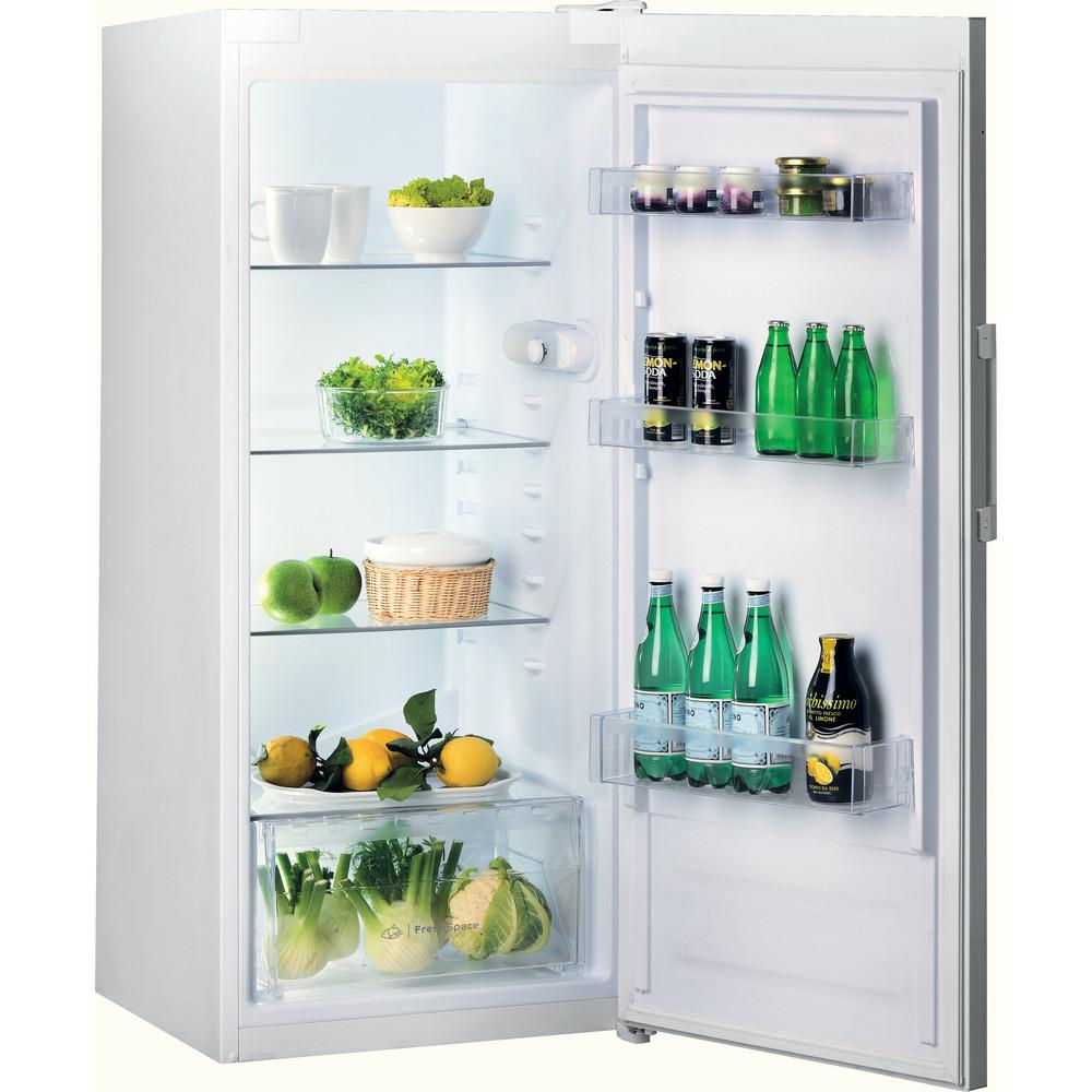 Indesit Réfrigérateur Pose-libre SI4 1 W1 Blanc Perspective open