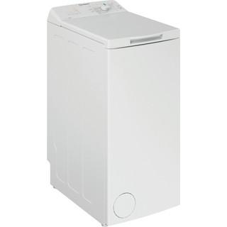 Indesit Lave-linge Pose-libre BTW L50300 FR/N Blanc Lave-linge top A++ Perspective
