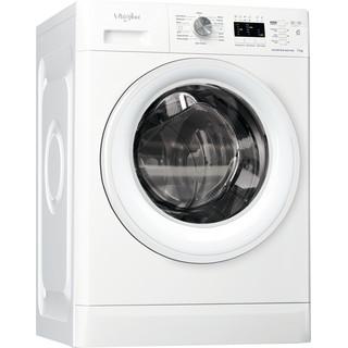 Whirlpool freestanding front loading washing machine: 7kg - FFL 7238 W UK