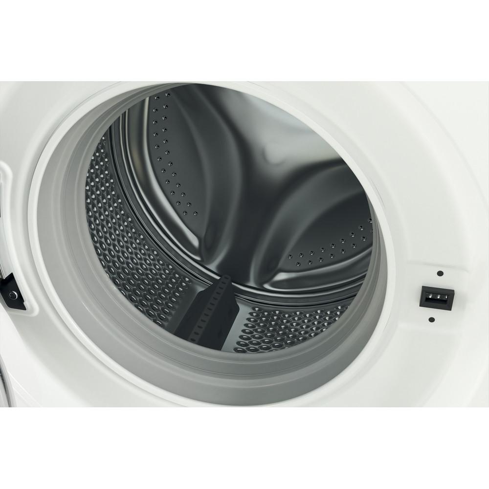 Indsit Maşină de spălat rufe Independent MTWSE 61252 WK EE Alb Încărcare frontală F Drum