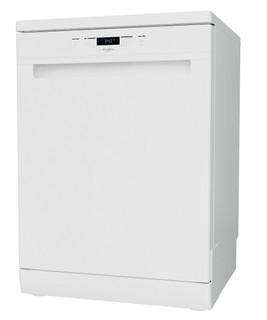 Whirlpool mašina za pranje sudova: bela boja, standardne veličine - WFC 3B19