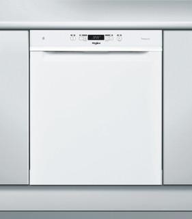 Whirlpool-opvaskemaskine: hvid farve, fuld størrelse - WUC 3O33 PL