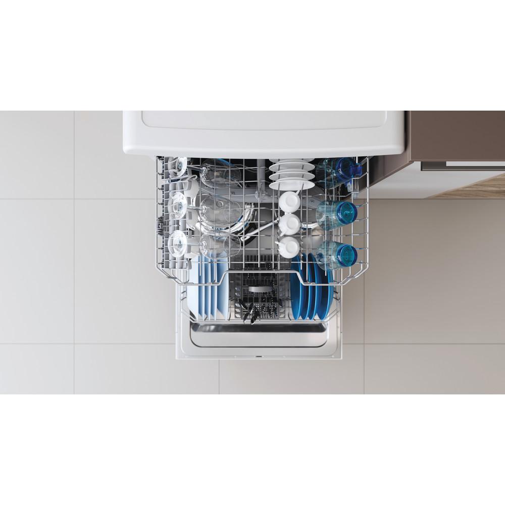 Indesit Dishwasher Free-standing DFE 1B19 UK Free-standing F Lifestyle detail