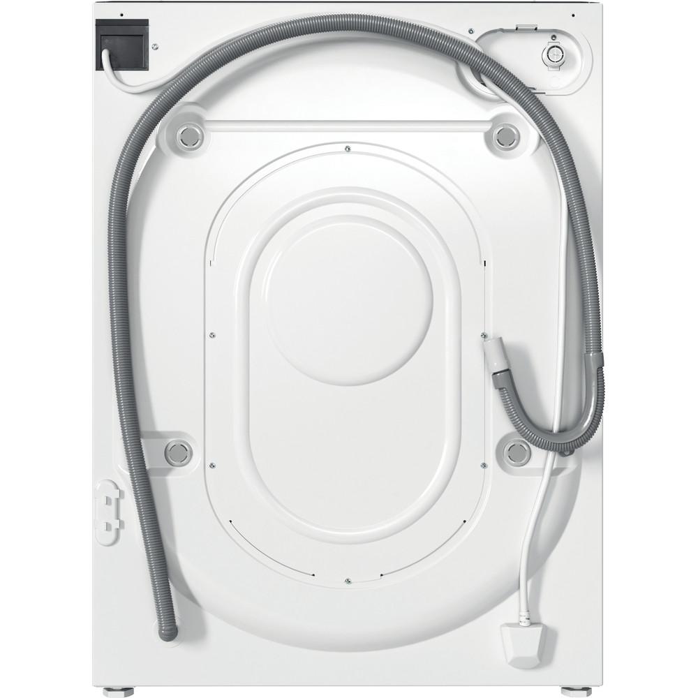 Indesit Washing machine Built-in BI WMIL 71252 UK N White Front loader E Back / Lateral