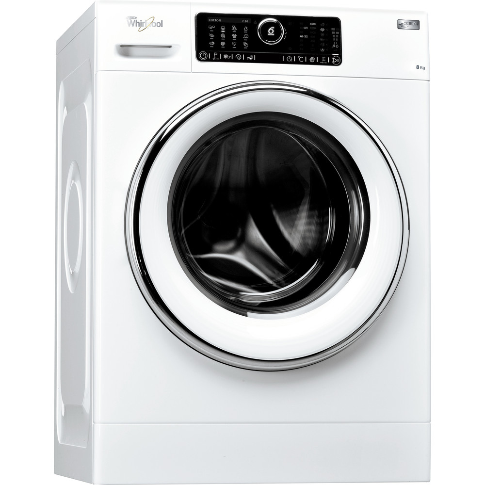 Whirlpool frontmatet vaskemaskin: 8 kg - FSCR80421