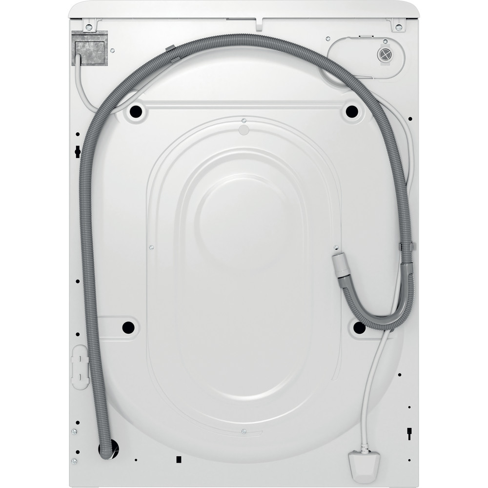 Indesit Пральна машина Соло OMTWSE 61051 WK UA Білий Front loader A+++ Back / Lateral