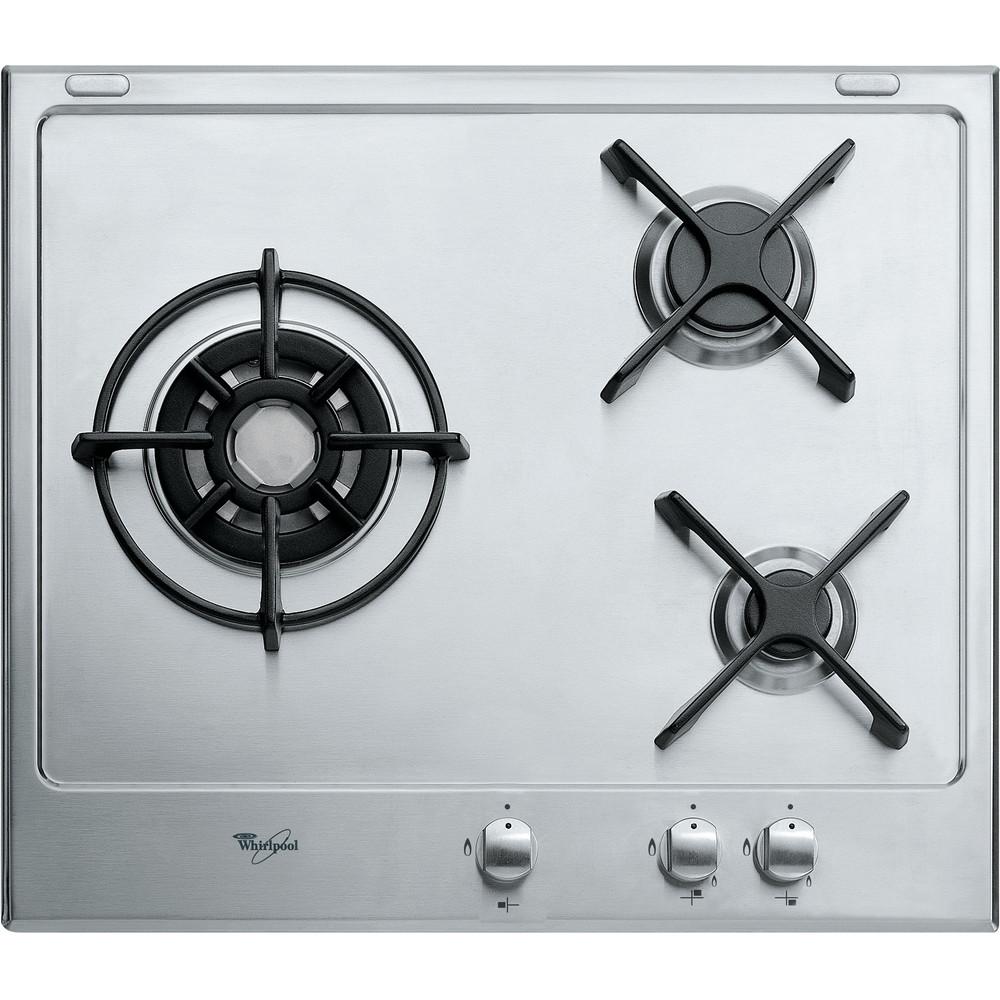 Encimera de gas Whirlpool: 3 quemadores de gas - AKT 653/IX