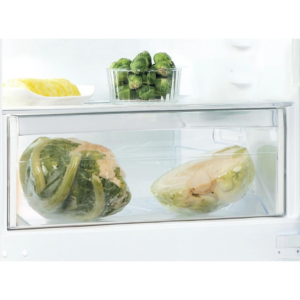 Indesit Combinazione Frigorifero/Congelatore Da incasso IND 401 Bianco 2 porte Drawer