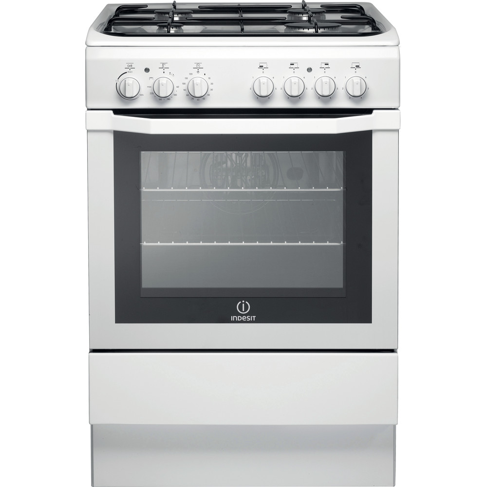 Indesit Cooker I6GG1(W)/UK White Frontal