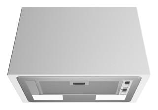 Whirlpool integrated cooker hood - WCT 64 FLS X