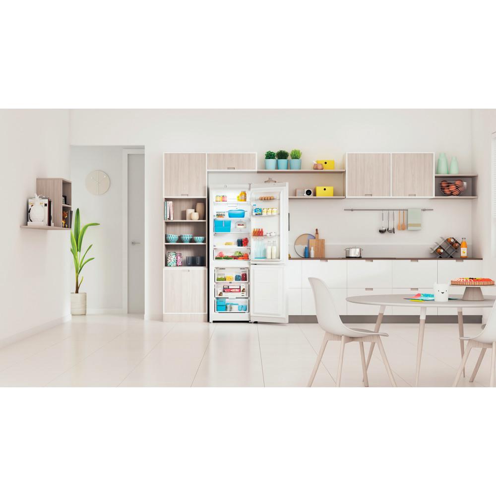 Indesit Холодильник с морозильной камерой Отдельностоящий ITS 4180 W Белый 2 doors Lifestyle frontal open