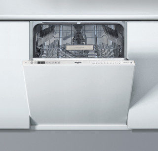 Integreret Whirlpool-opvaskemaskine: inox-farve, fuld størrelse - WCIO 3T321 PS E