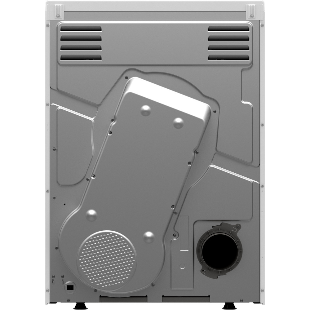 Indesit Dryer I1 D71W UK White Back / Lateral