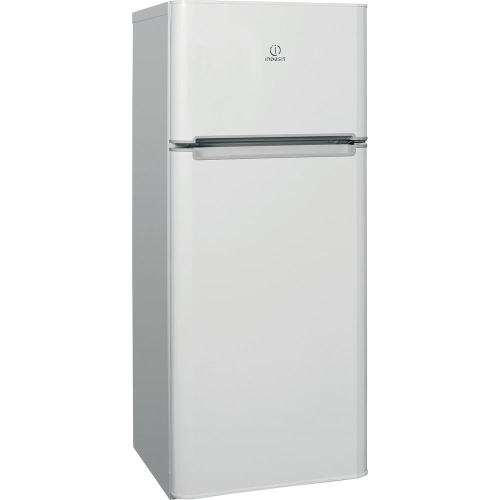 Indesit Холодильник з нижньою морозильною камерою. Соло TIA 14 S AA UA Білий 2 двері Perspective