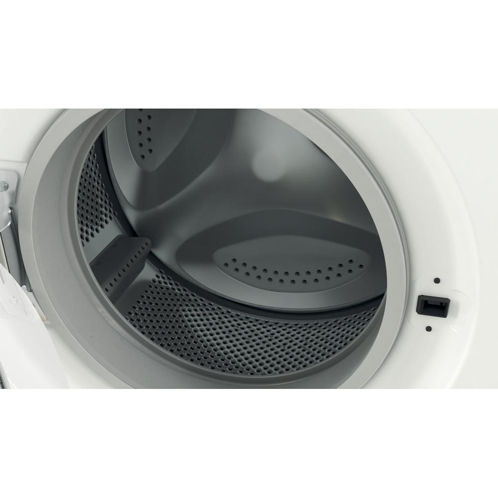 Indesit Перална машина Свободностоящи EWC 71252 W EE N Бял Предно зареждане E Drum