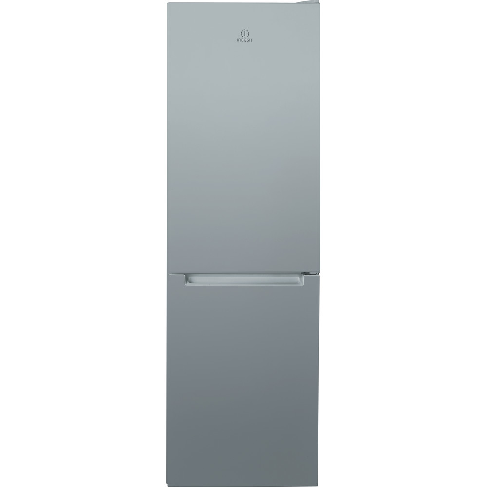 Indesit Fridge Freezer Free-standing LR8 S1 S UK Silver 2 doors Frontal