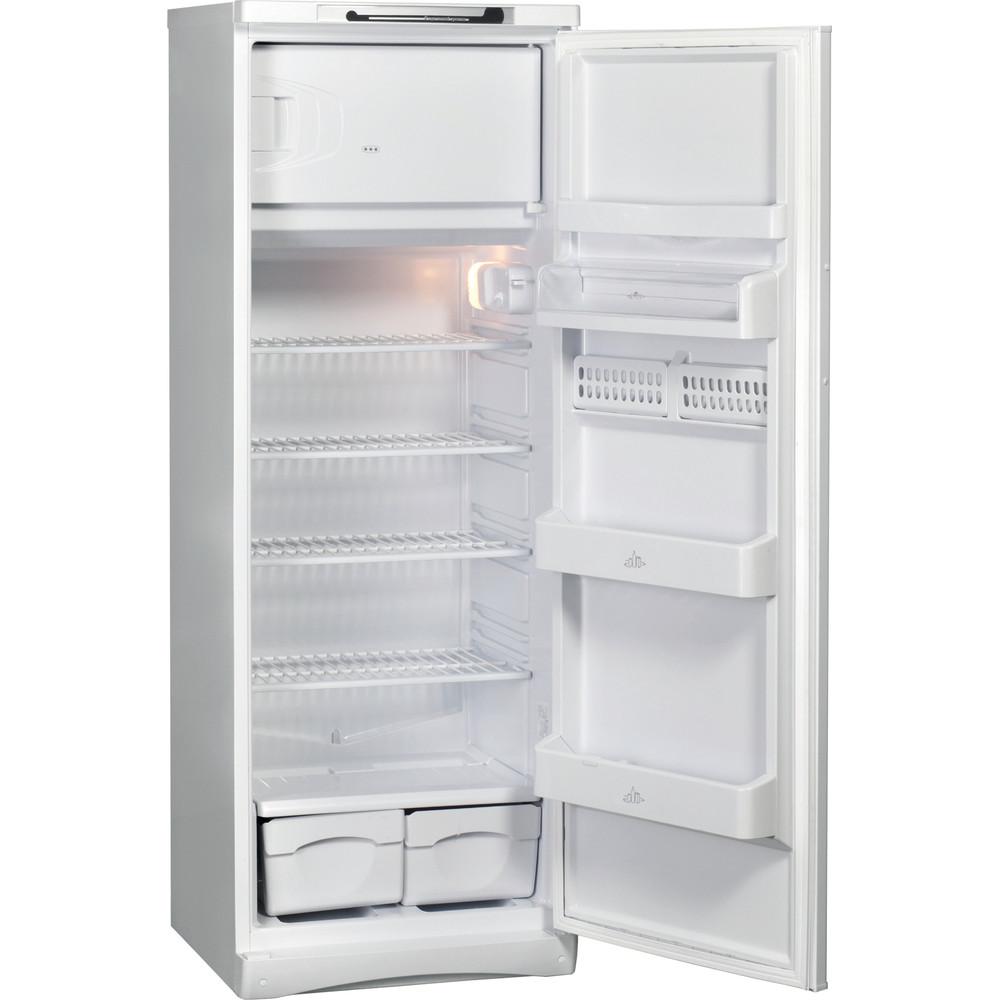 Indesit Холодильник Отдельностоящий ITD 167 W Белый Perspective open