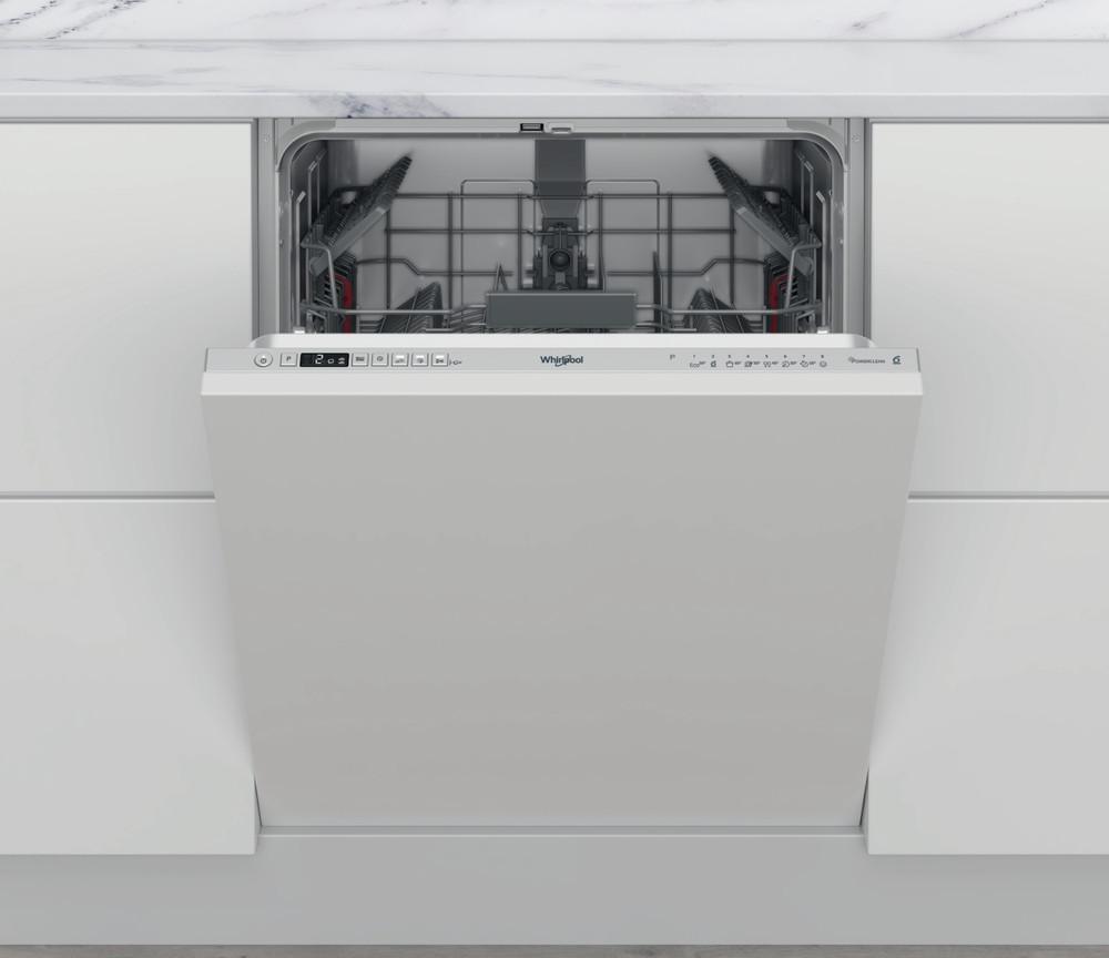 Whirlpool Dishwasher Ugradna WI 7020 P Potpuno integrisana E Frontal
