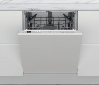 Съдомиялна за вграждане Whirlpool: сребрист цвят, пълен размер - WI 7020 P