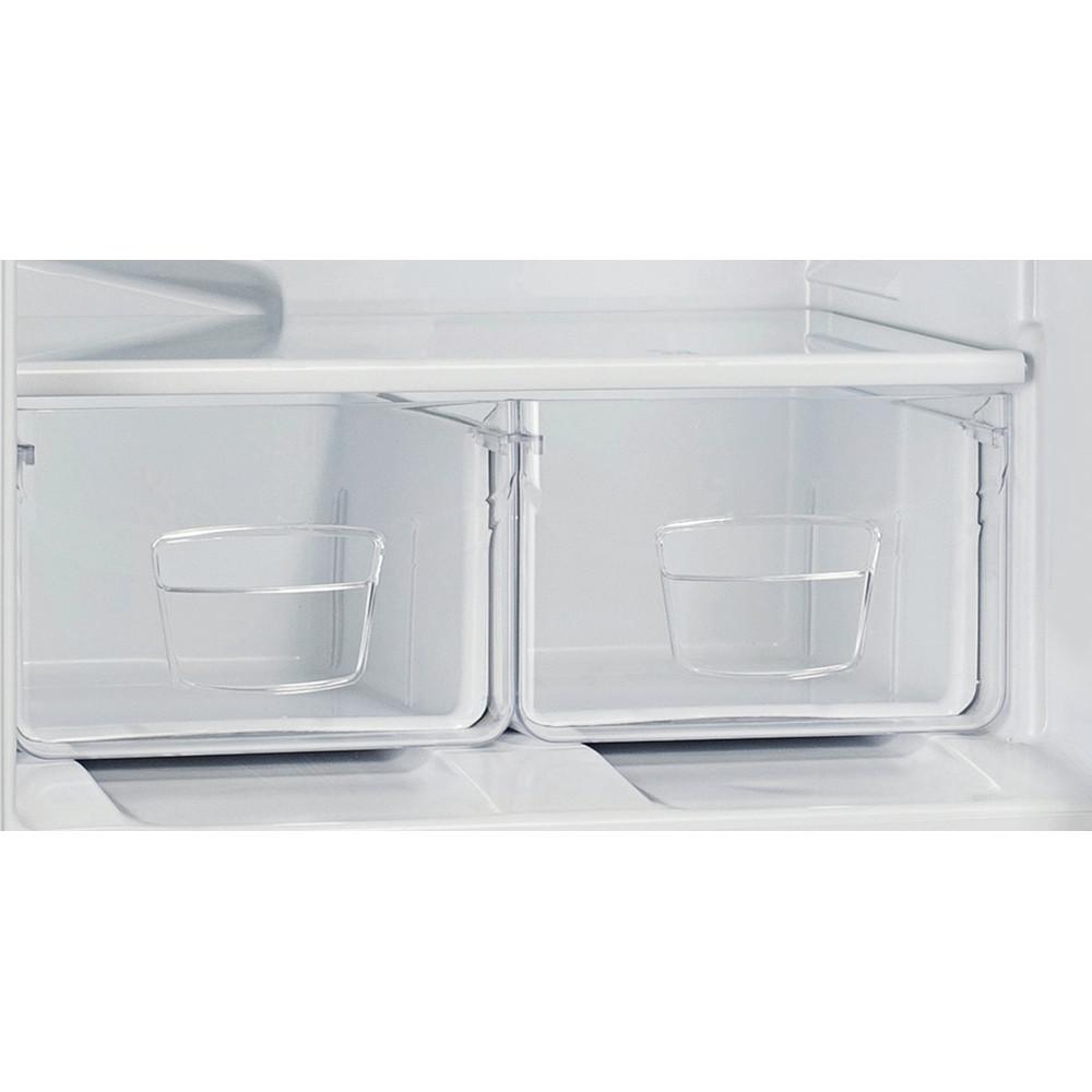 Indesit Холодильник с морозильной камерой Отдельностоящий ES 18 Белый 2 doors Drawer