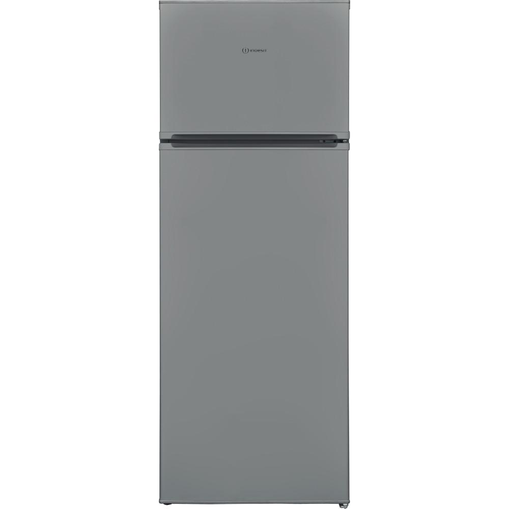 Indesit Kühl-/Gefrierkombination Freistehend I55TM 4120 S CH 2 Silber 2 Türen Frontal