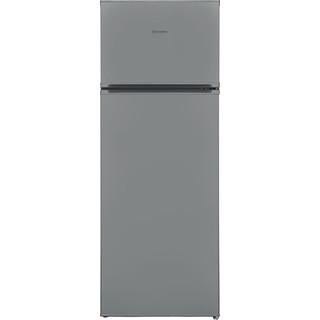 Indesit Combiné réfrigérateur congélateur Pose-libre I55TM 4120 S CH 2 Argent 2 portes Frontal