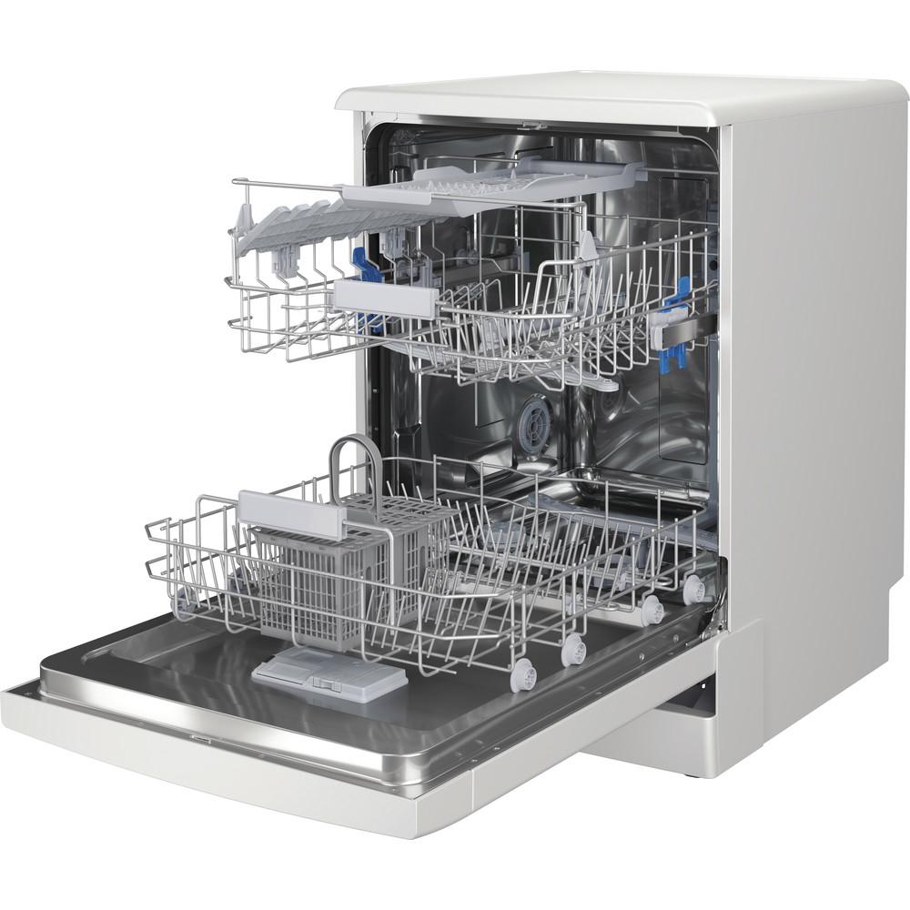 Indesit Mašina za pranje posuđa Samostojeći DFC 2B+19 AC Samostojeći F Perspective open