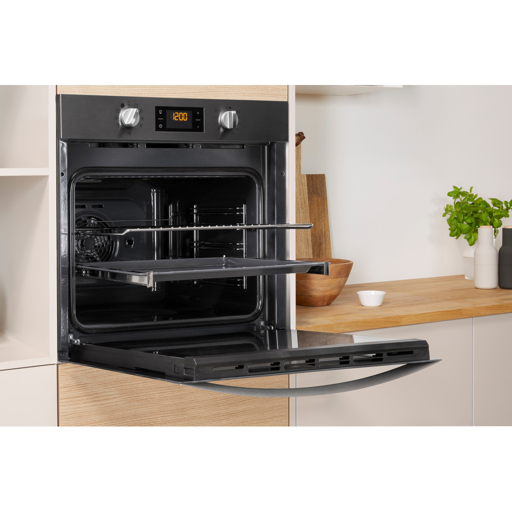 Indesit OVEN Built-in IFW 3841 P IX UK Electric A+ Lifestyle perspective open