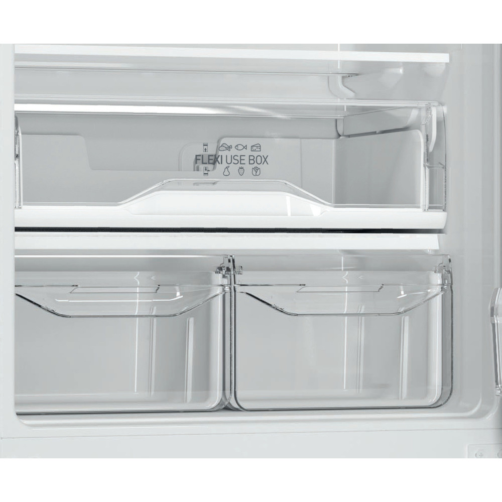 Indesit Холодильник с морозильной камерой Отдельностоящий ITF 118 W Белый 2 doors Drawer