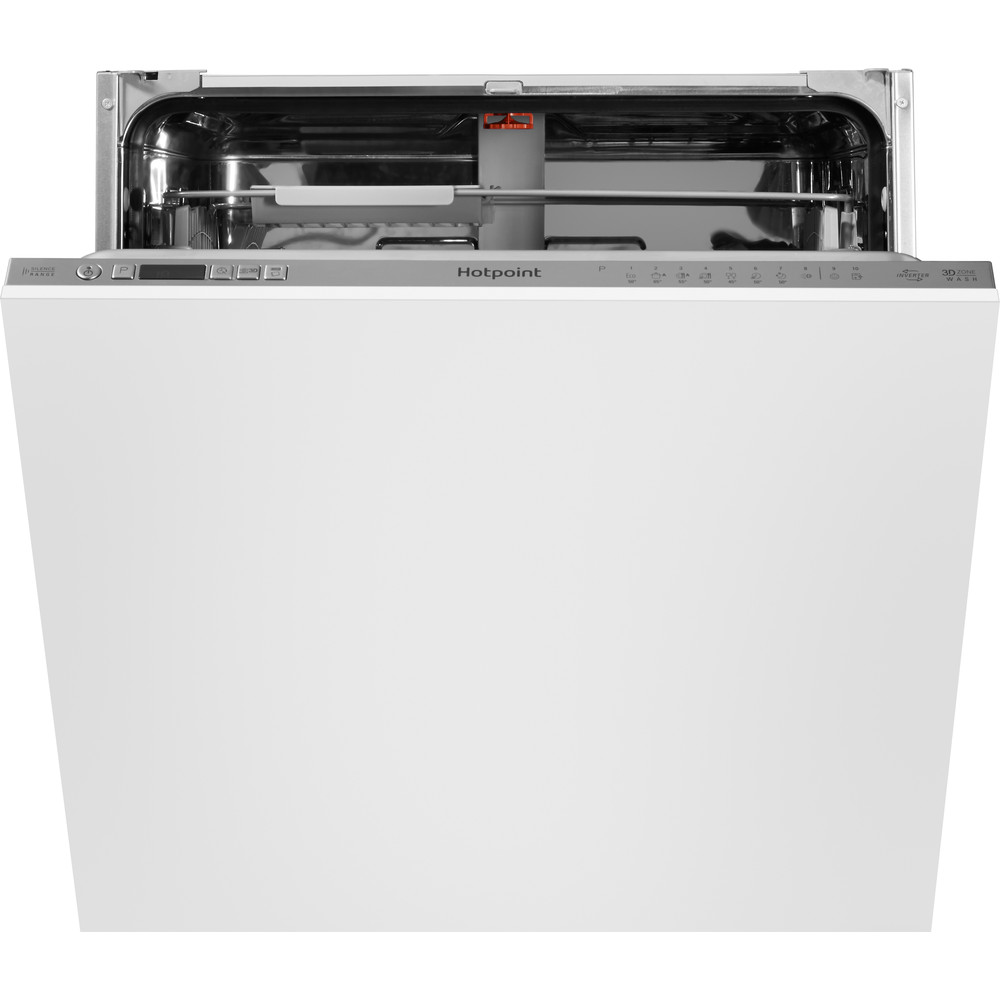 Hotpoint Dishwasher Built-in HIO 3T221 WG C E UK Full-integrated A Frontal