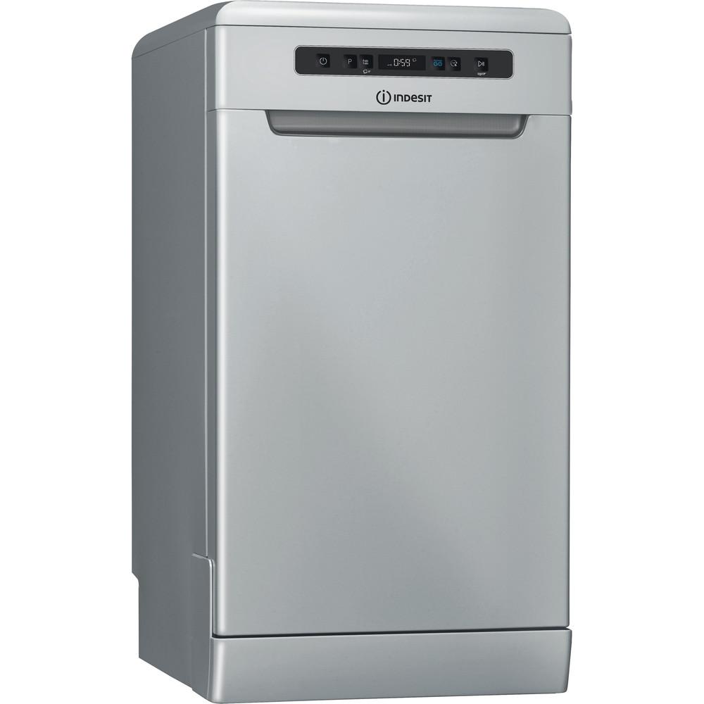 Indesit Lave-vaisselle Pose-libre DSFC 3T117 S Pose-libre A+ Perspective