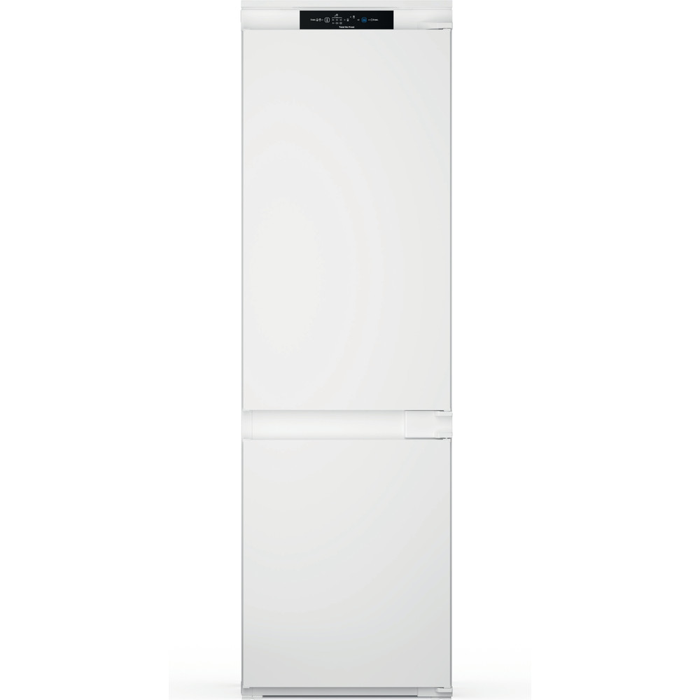 Indesit Комбиниран хладилник с камера Вграден INC18 T311 Бял 2 врати Frontal