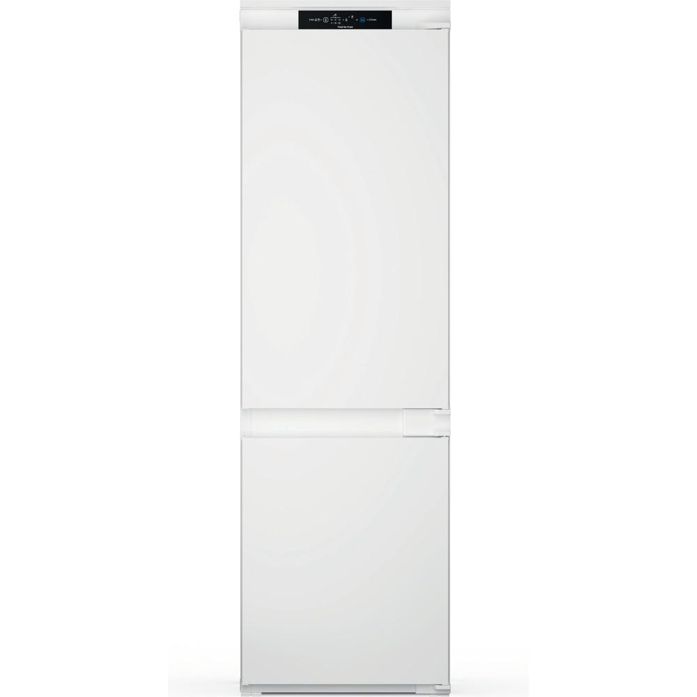 Indesit Réfrigérateur combiné Encastrable INC18 T311 Blanc 2 portes Frontal