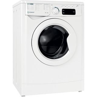 Indesit Lavadora secadora Libre instalación EWDE 751251 W SPT N Blanco Cargador frontal Perspective