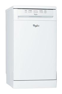 Whirlpool dishwasher: white color, slimline - ADP 201 WH
